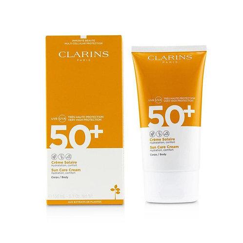 Protector Solar en crema Clarins Suncare SPF50 50 Ml