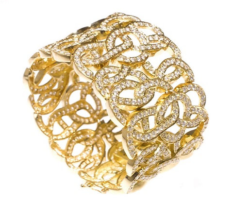Squiggle Diamond Bracelet