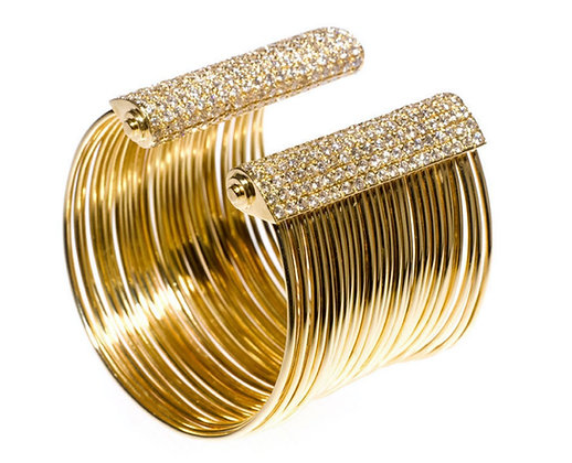 Yellow Gold Line Bracelet