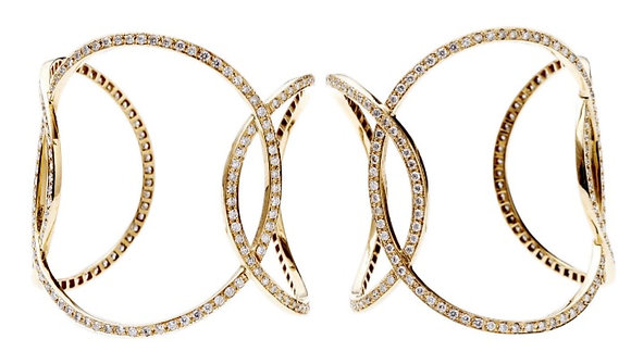 Three Circle Diamond Cuff