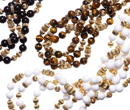 Three Strand Necklaces