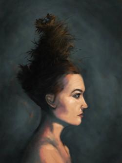 Nest in Her Hair