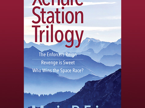 My Science Fiction Trilogy is Published.