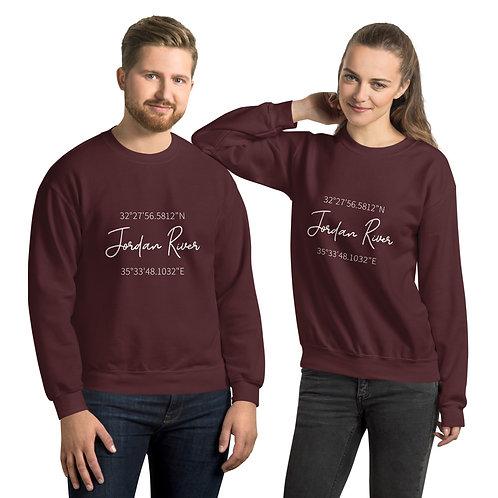 Jordan River Coordinates Sweatshirt