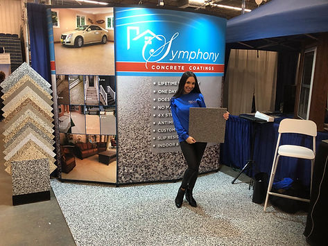 Symphony Concrete Coatings, Home Shows, Hiring, Jobs, Boston Jobs, Event Representative