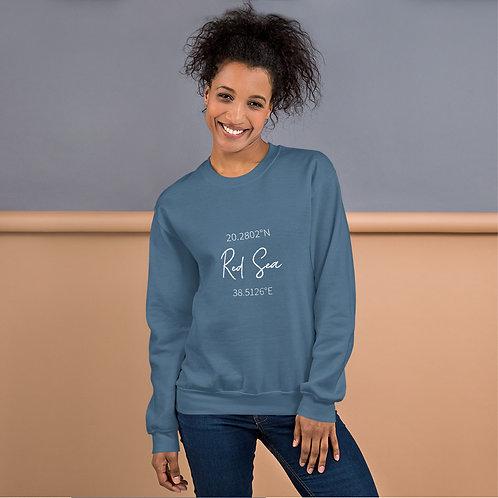 Red Sea Coordinates Sweatshirt