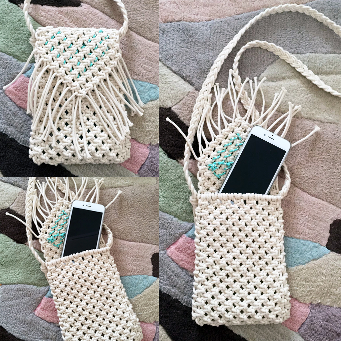 Macrame Phone Case