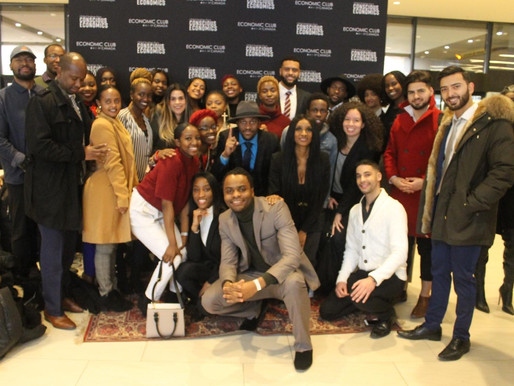 50 young black professionals travel to Toronto with Equal Chance to network and hear President Obama