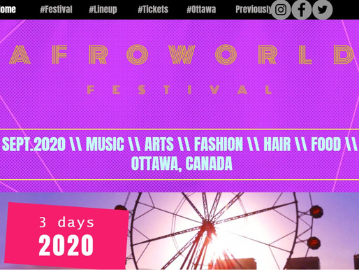 AFRO WORLD FEST - Standing together to celebrate black cultures in Canada and challenge racism!
