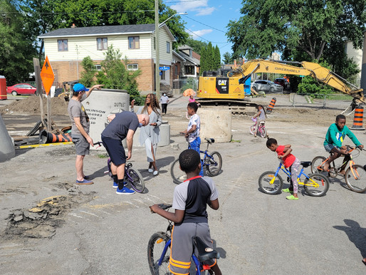 A BIKE CLUB THAT SUPPORTS THE MENTAL HEALTH OF HOMELESSS AND LOW INCOME CHILDREN