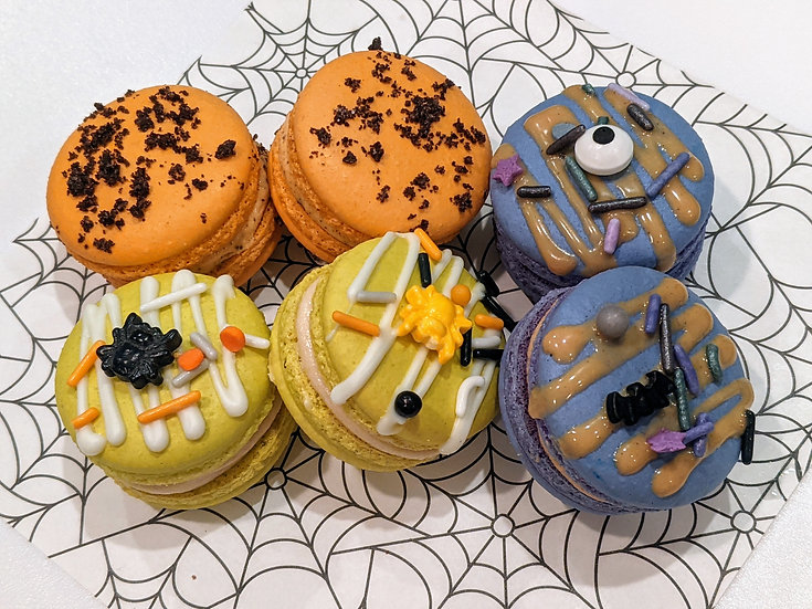 6 pack French Macarons