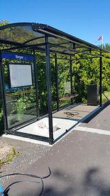 Busskur, sikkerhetsglass, herdet glass, glassmester, Revetal, Vestfold, www.revetalglasservice.no