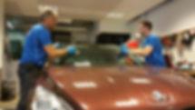 Frontruteskift, Steinsprutreperasjon, Revetal Glasservice AS