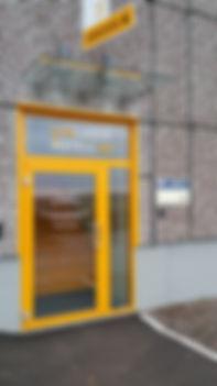Glass, glass baldakin, aluminium slagdør, glassmester, Revetal, Revetal Glasservice AS, www.revetalglasservice.no