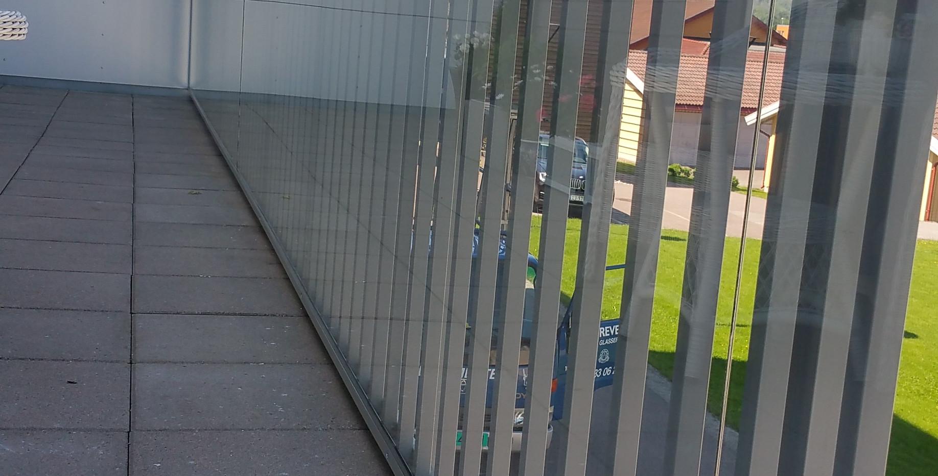Aluminiumsrekkverk - Revetal Glasservice AS