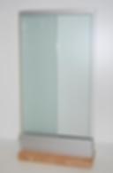vindskjerming i glass, revetal glasservice as