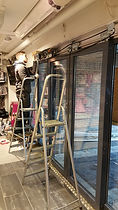 Fasade, aluminium, glassmester, Revetal Glasservice AS, Automatikk dører, innglassing, solide dører, wwww.revetalglasservice.no, Re, Vestfold, Revetal, dørautomatikk