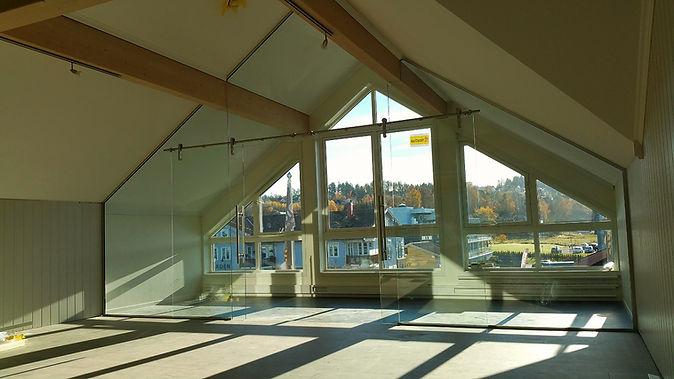 Dorma skyvedør i glass, Revetal Glasservice AS, Interiørglass, www.revetalglasservice.no, glassmester,
