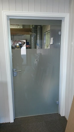 Dorma Agile glassdør, Herdet glass, sikkerhetsglass Revetal Glasservice AS, www.revetalglasservice.no,