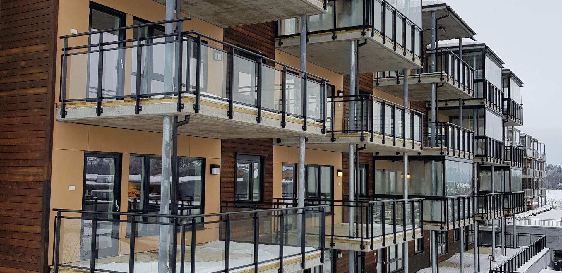 Utvendig Fasade bilde av Rekkverk og inn