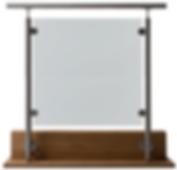 Rekkverk, revetal glasservice as