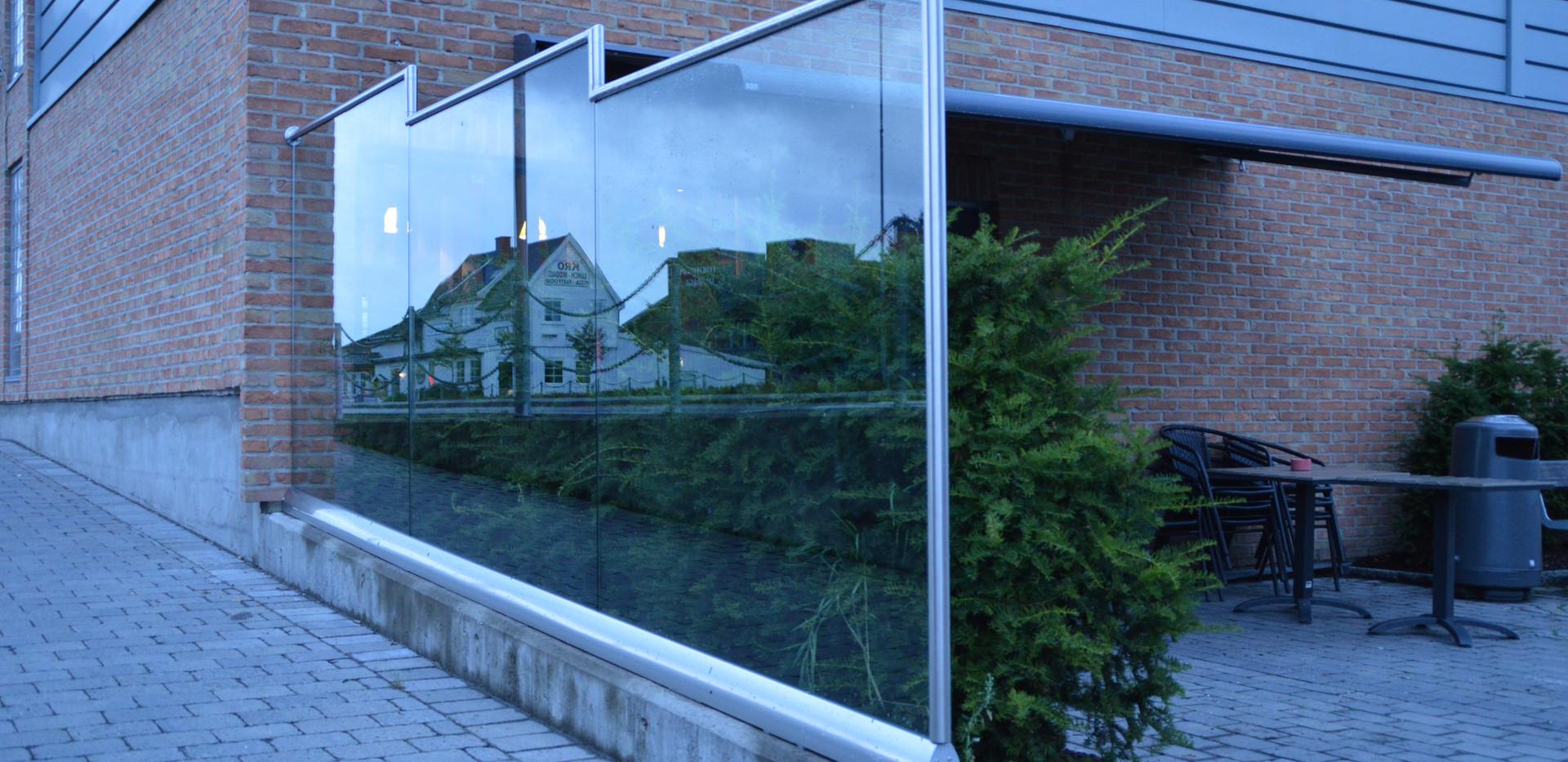 Vindskjerming - Glass