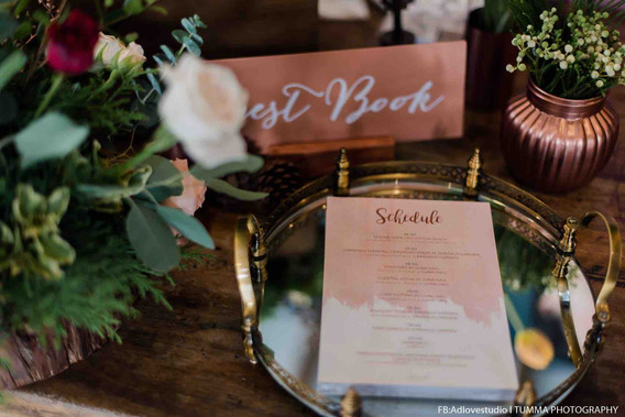 Guest Book and Schedule