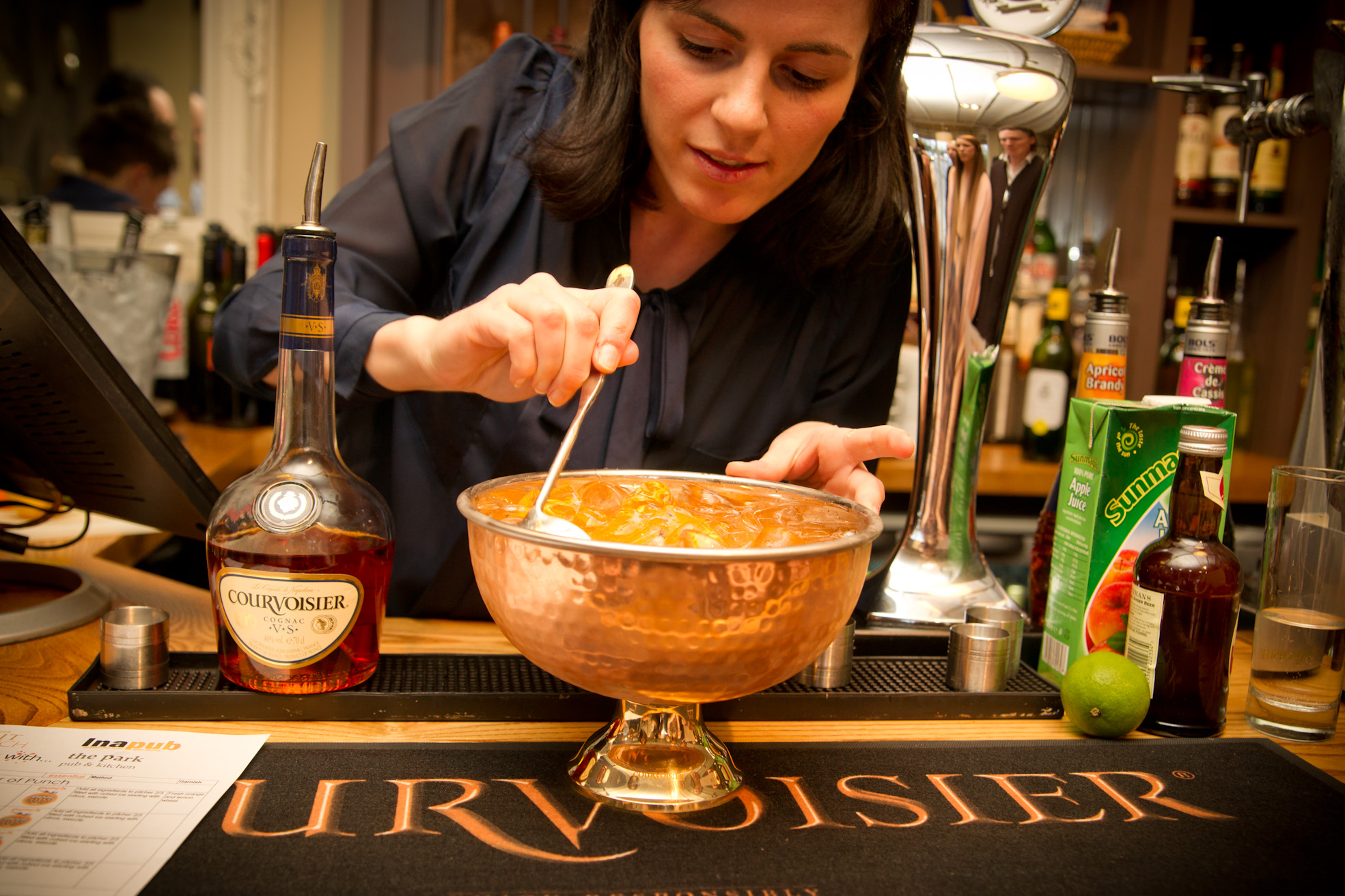 Courvoisier Cocktail Making, Bedford