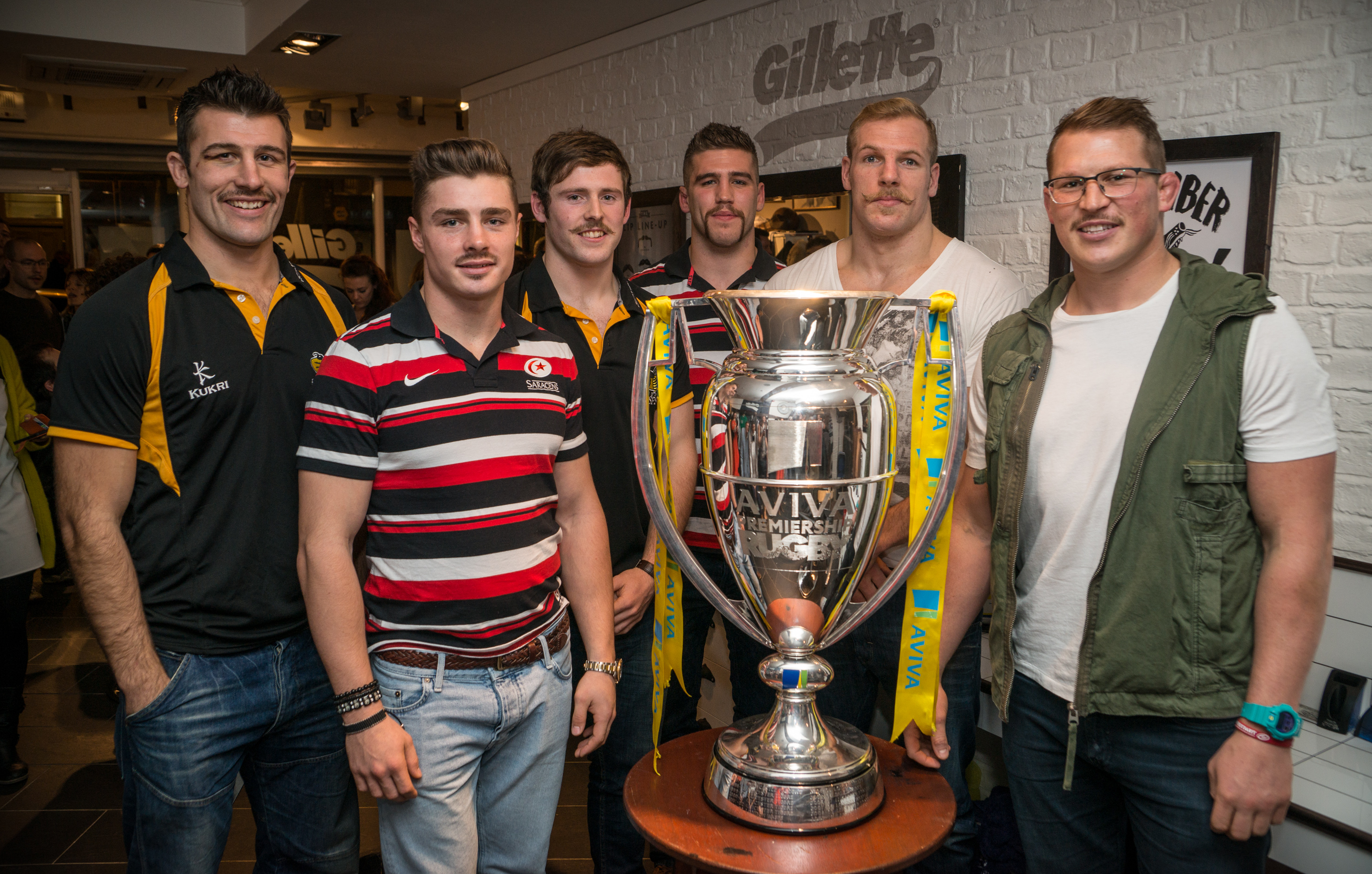 Premiership Rugby for Movember