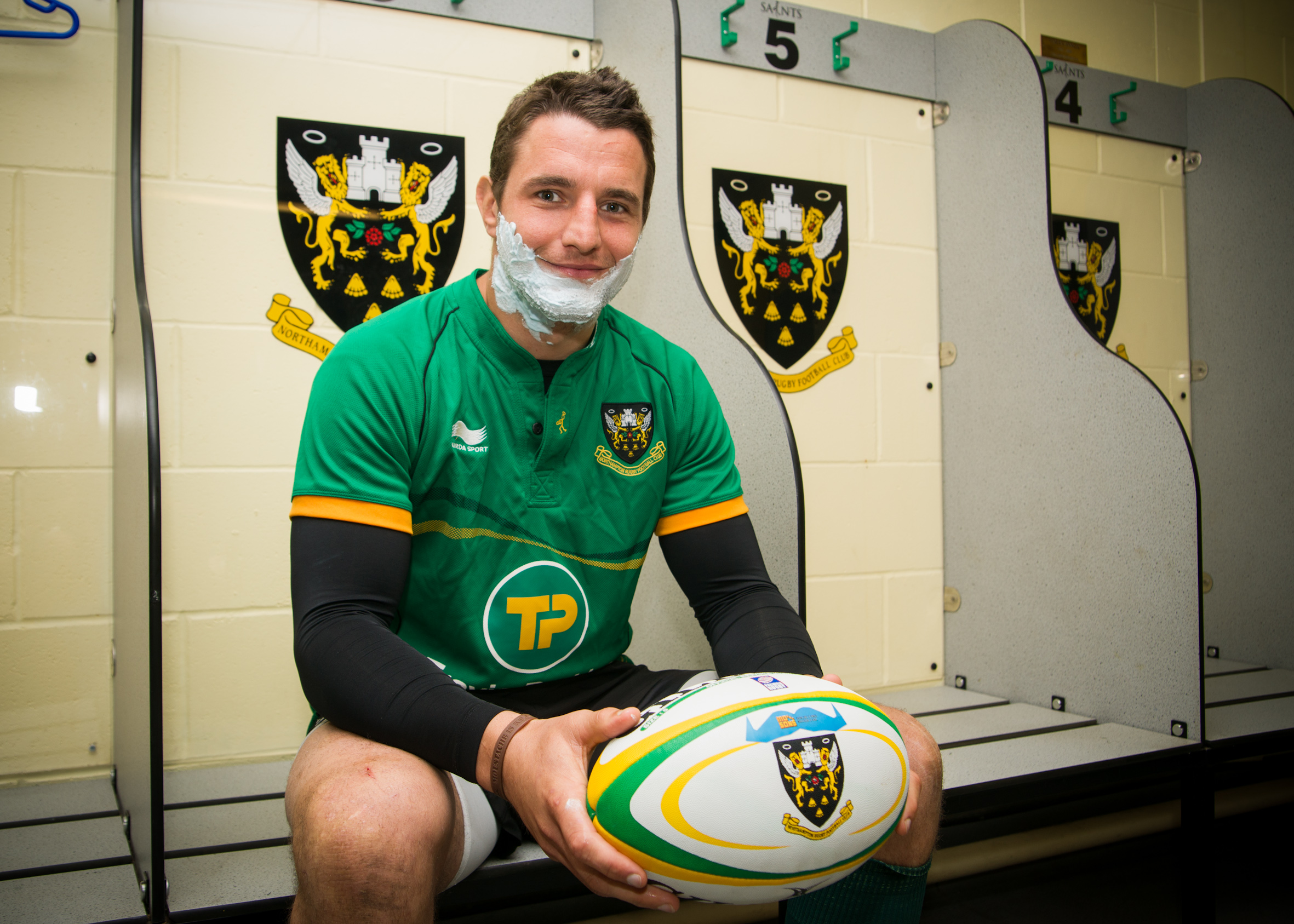 Phil Dowson for Movember 2012
