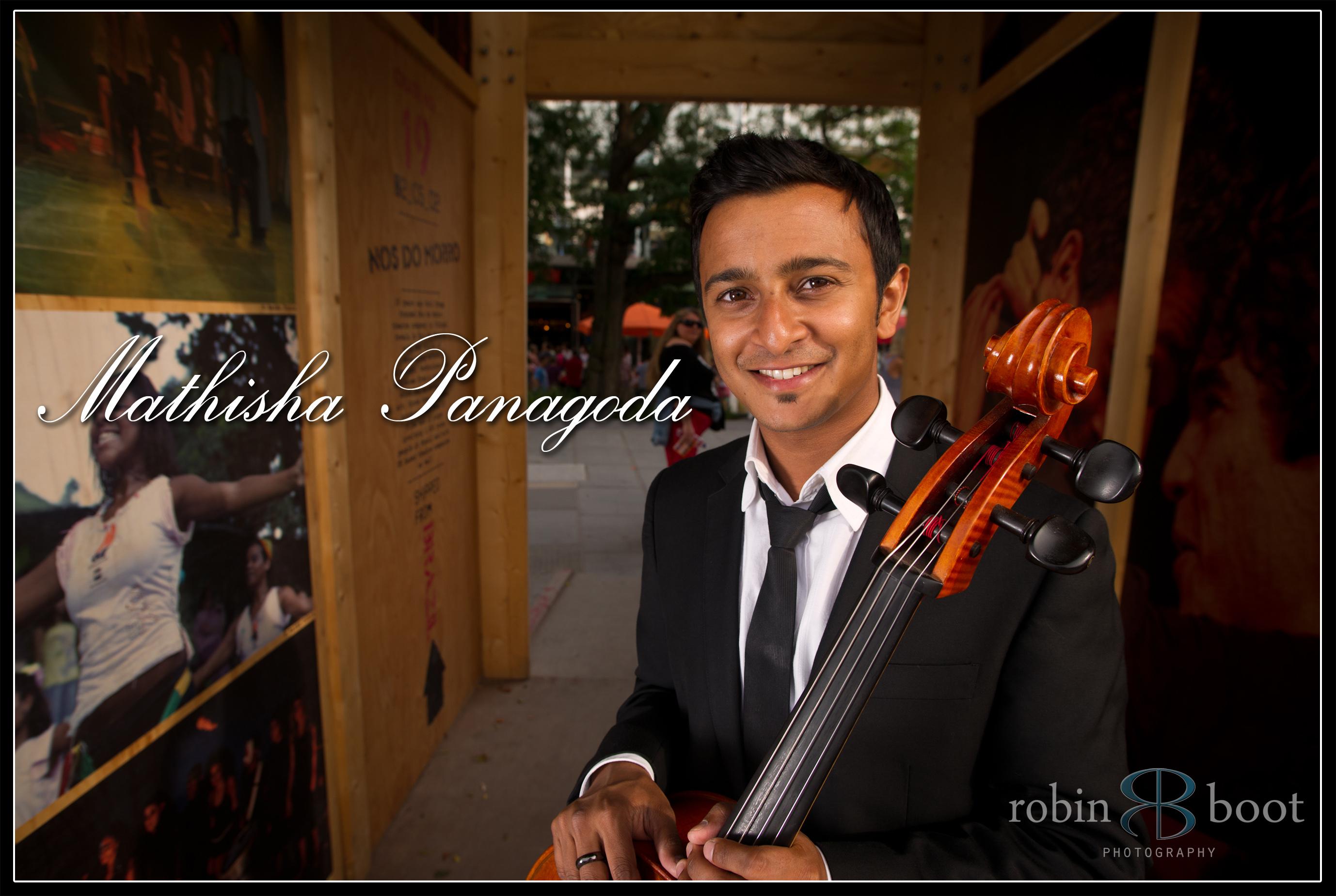 Mathisha Panagoda, Pro Cellist
