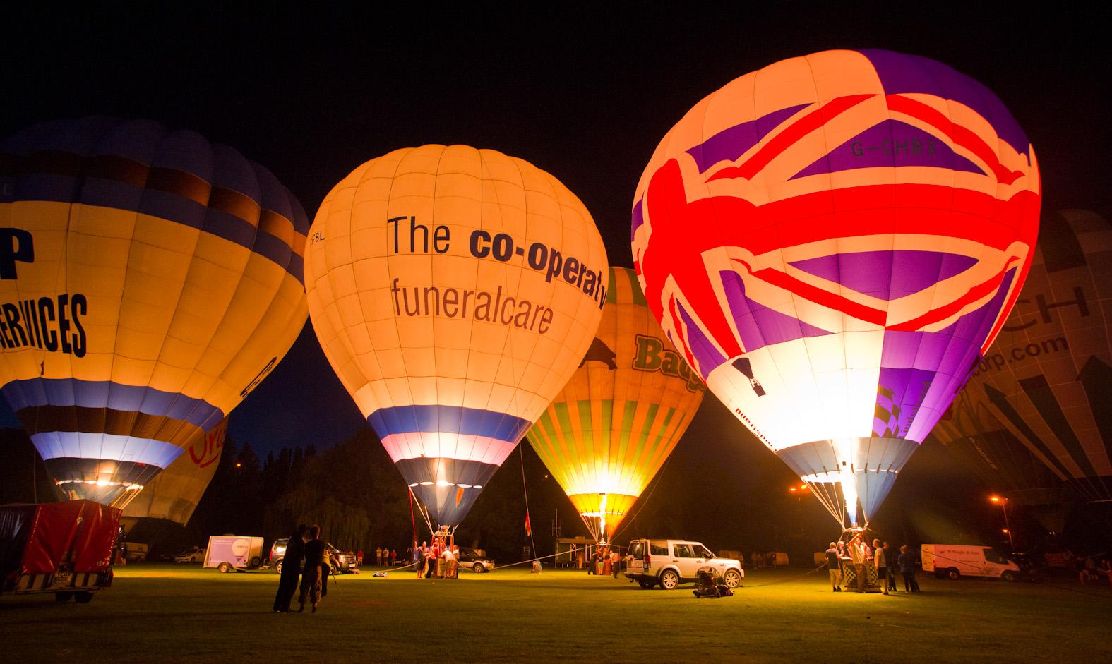 Northampton Balloon Festival 2012