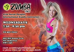 Sarah Douglas, Zumba Fitness