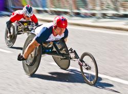 David Weir, Paralympic Marathon