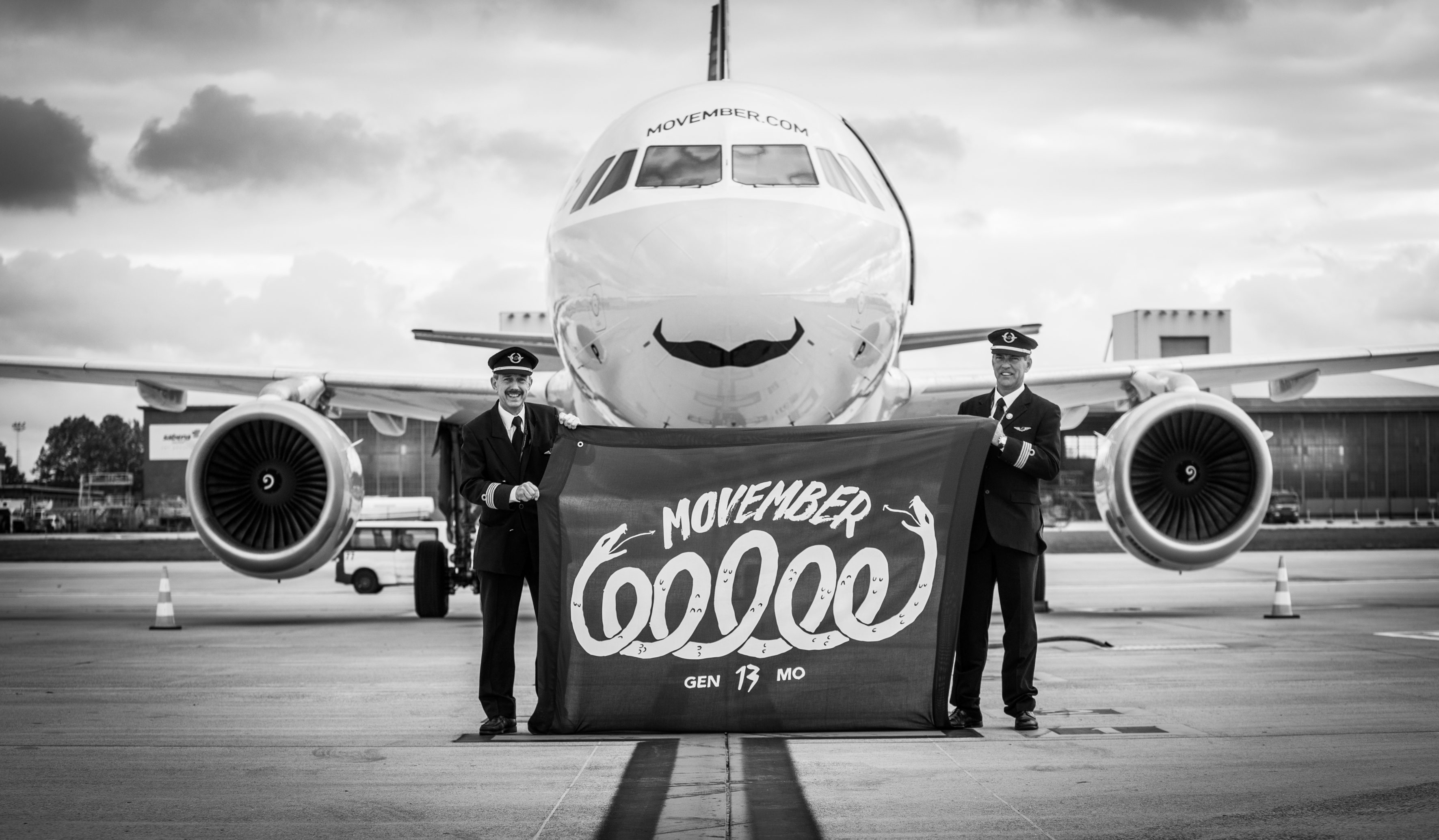 Brussels Airlines for Movember