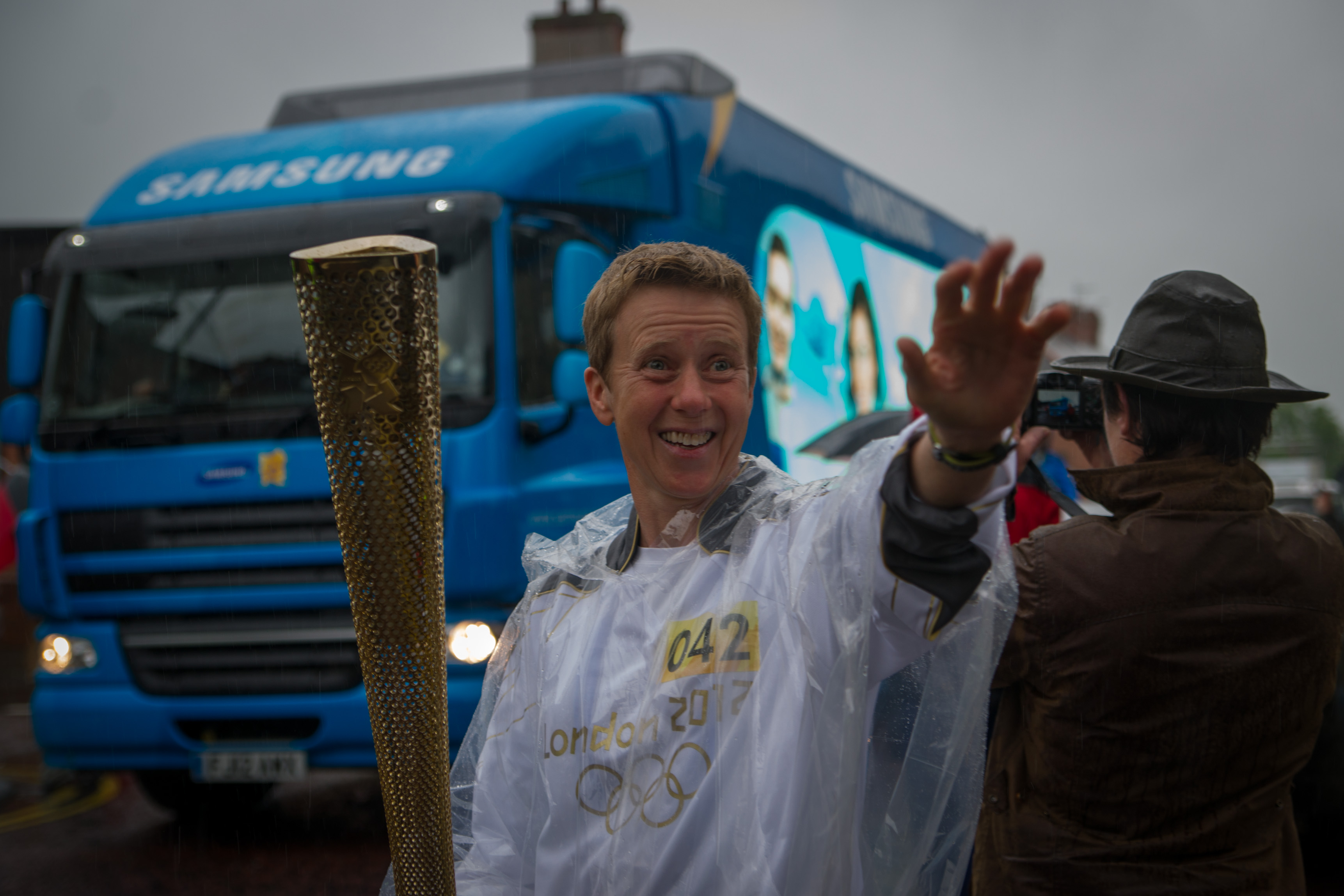 Samsung Olympic Torch, Manchester