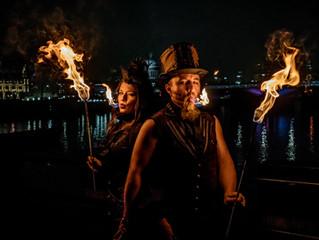 London's Burning: Shade Flamewater & Mini Azur
