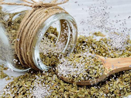Oregano Infused Sea Salt