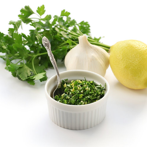 EVOO with Milanese Gremolata