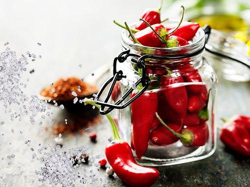 Chili Infused Sea Salt