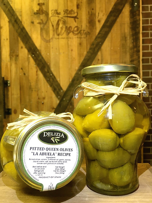 """Pitted Queen """"La Abuella"""" Stuffed Olives"""