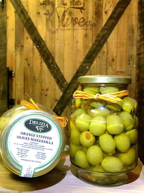 Orange Stuffed Olives