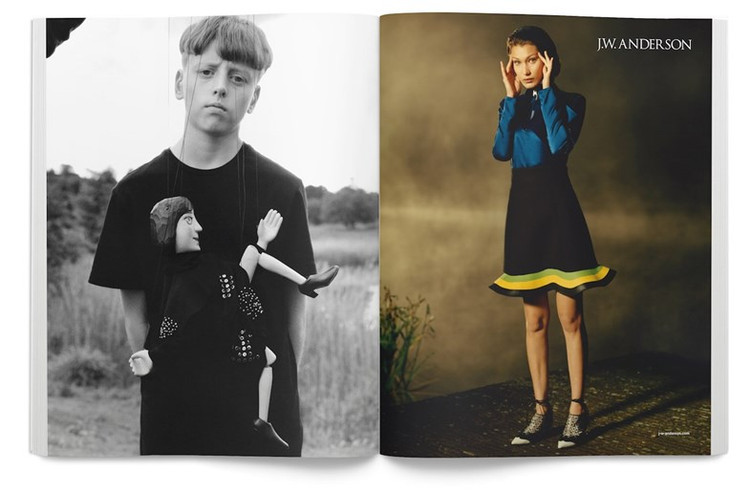 This is what J.W Anderson's Fall campaign looks like