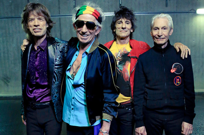The Rolling Stones are going to be exhibiting themselves