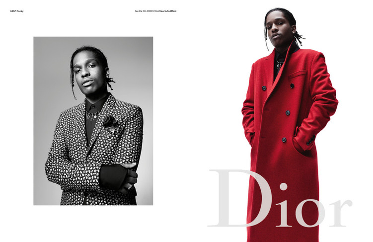 This is what Dior Homme's Fall 17 campaign looks like