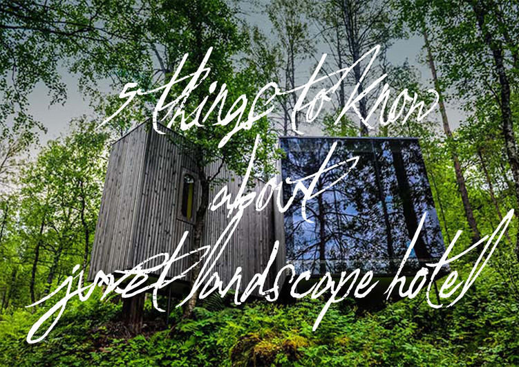 5 things to know about Juvet Landscape Hotel