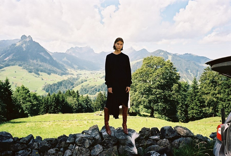 Ottolinger goes to the Swiss countryside for SS17