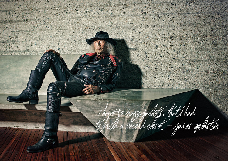 5 minutes with James Goldstein