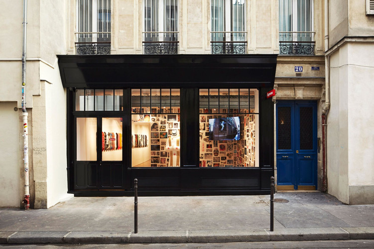 Welcome to Supreme's new Parisian store