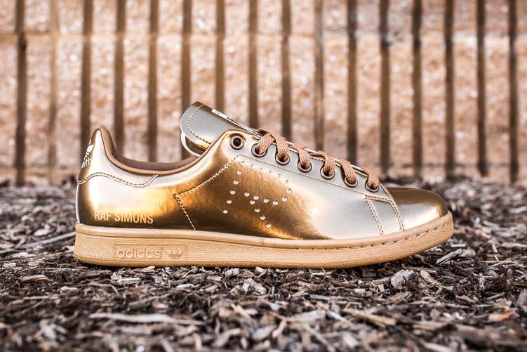 Raf Simons x adidas originals copper sneaker just dropped